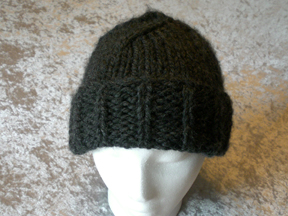 Thick and Quick Hat with Folded Brim