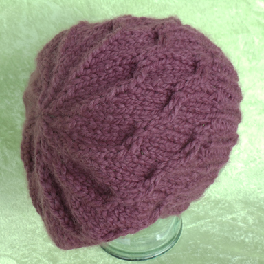 Free Knitting Pattern Hat Bulky Yarn : BULKY CHILD HAT KNIT PATTERN   Patterns Gallery